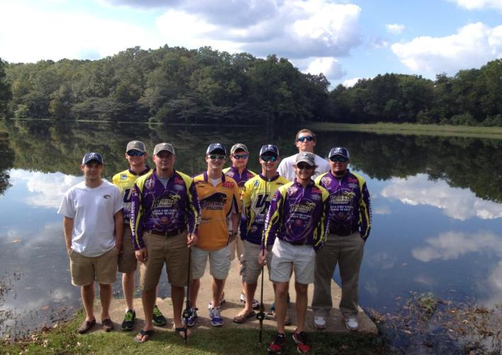 Fishing team ranks 25 in the nation