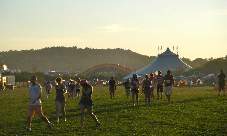 Students experience the wonderland of TomorrowWorld