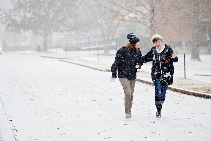 """""""Snowpocalypse"""" freeze campus, city"""