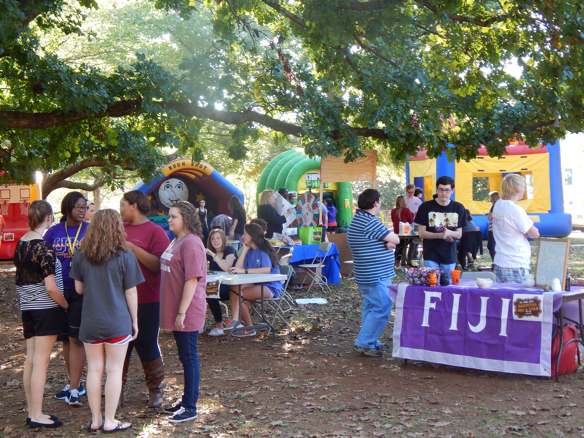 Carnival for a Cure brings fun and charity to campus