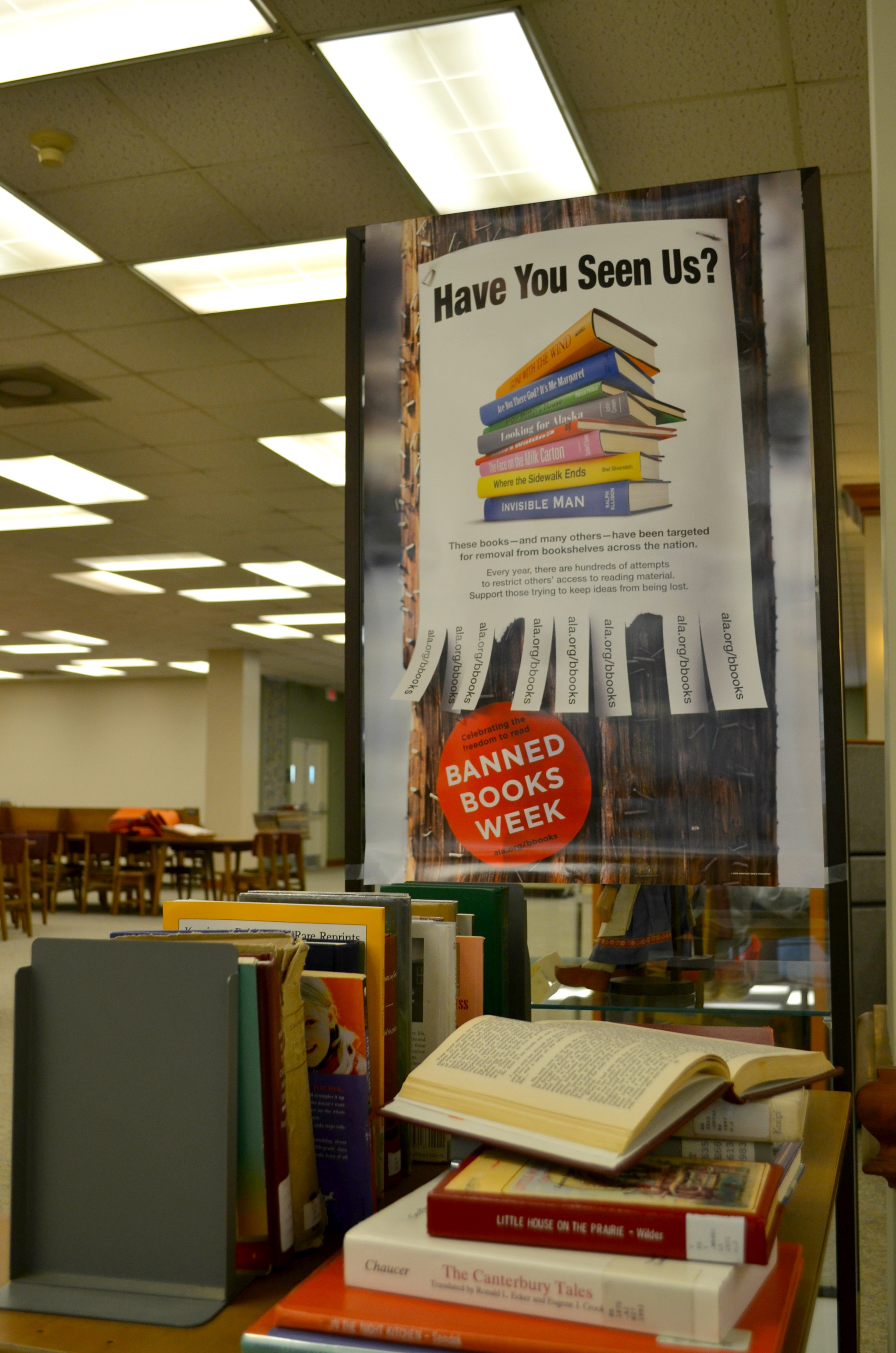 Carmichael Library lauds banned books