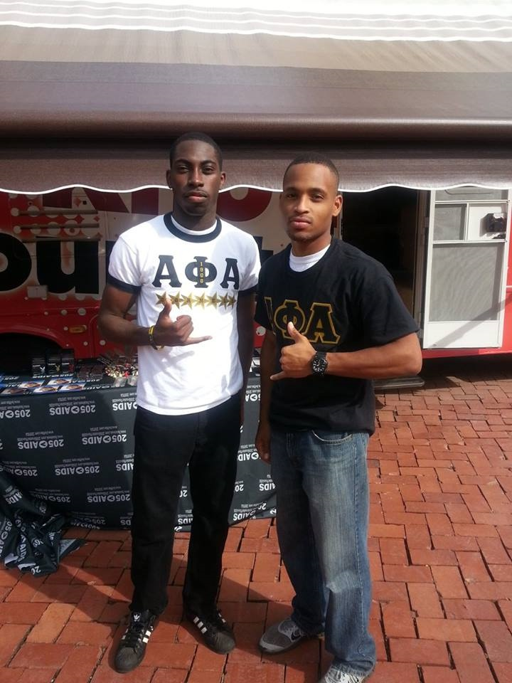 Alphas bring HIV/AIDS awareness and assistance to campus