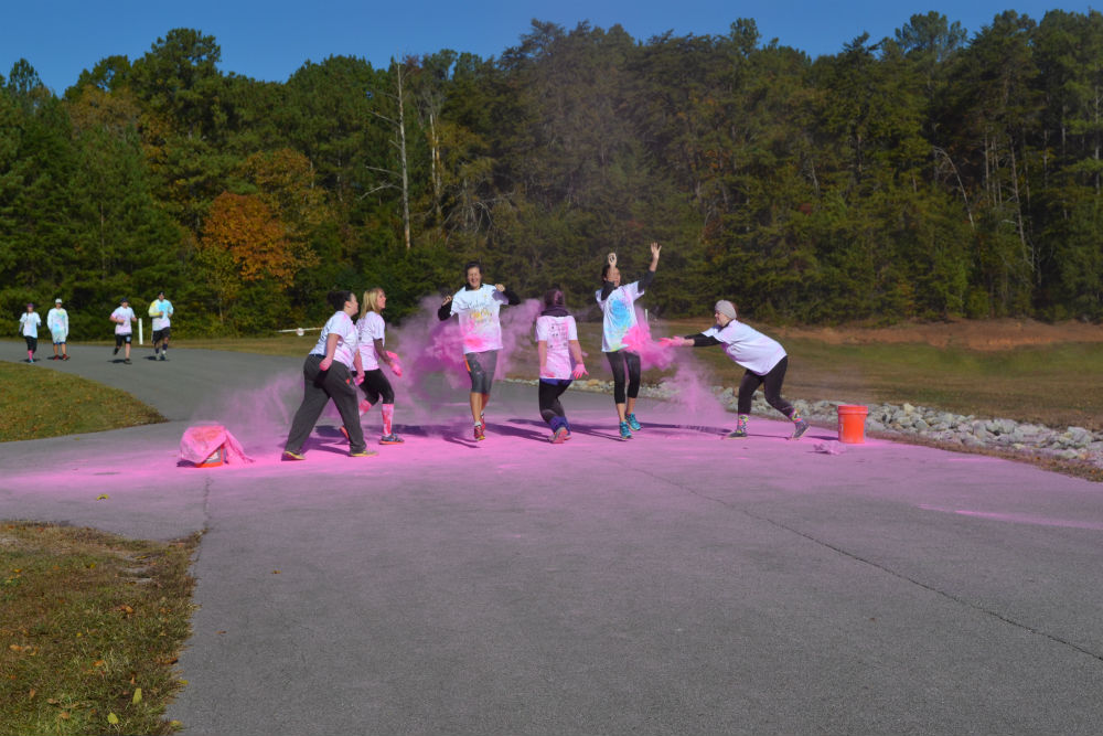 Chi O splashes color onto campus