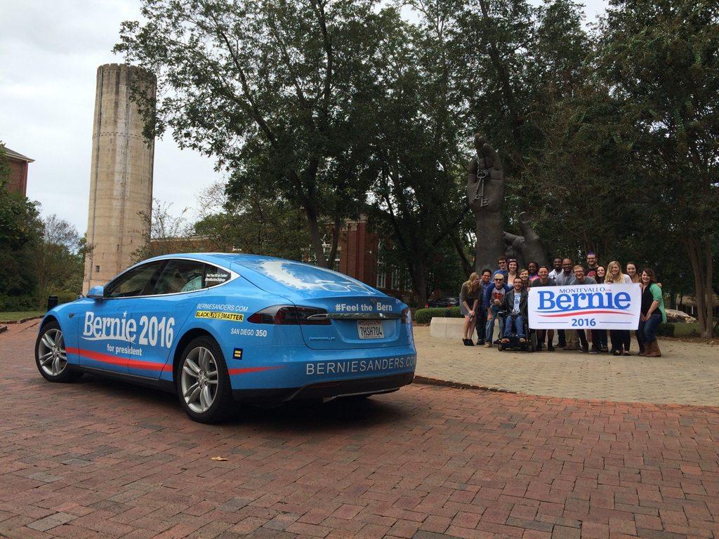 'Bern Machine' makes pit stop in Montevallo