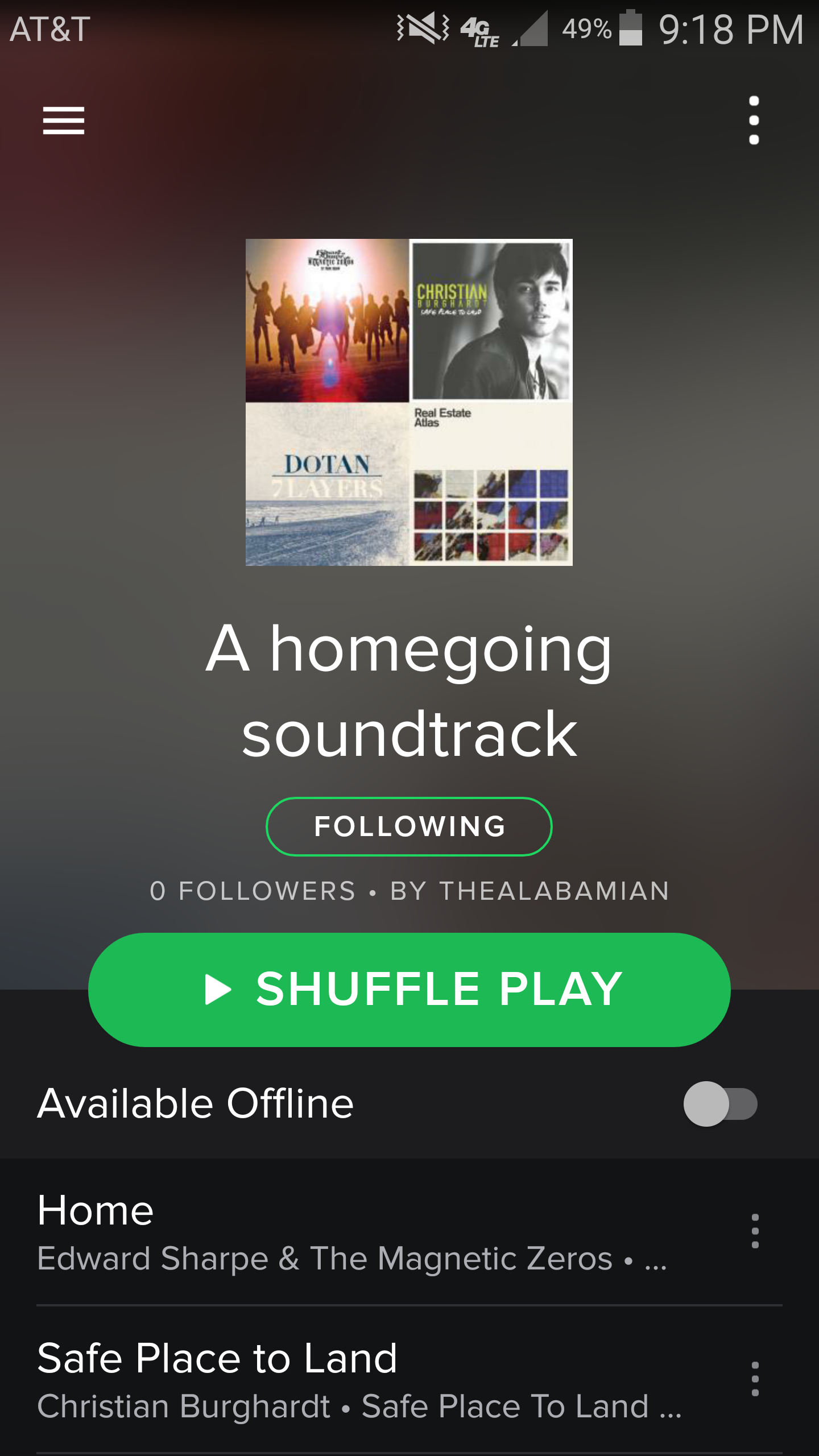 Spotify Playlist: A homecoming soundtrack