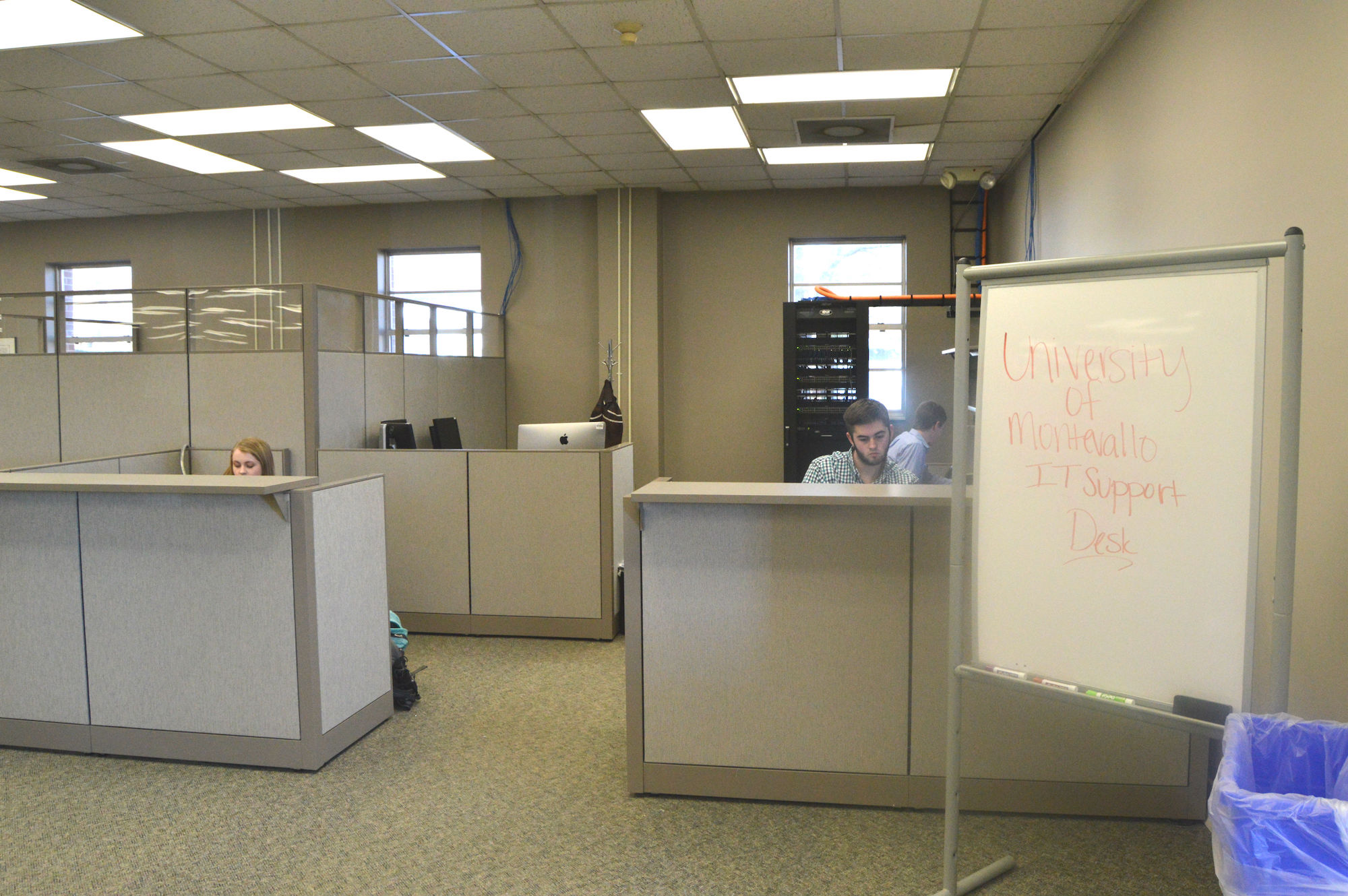 Technology help desk moves to Carmichael