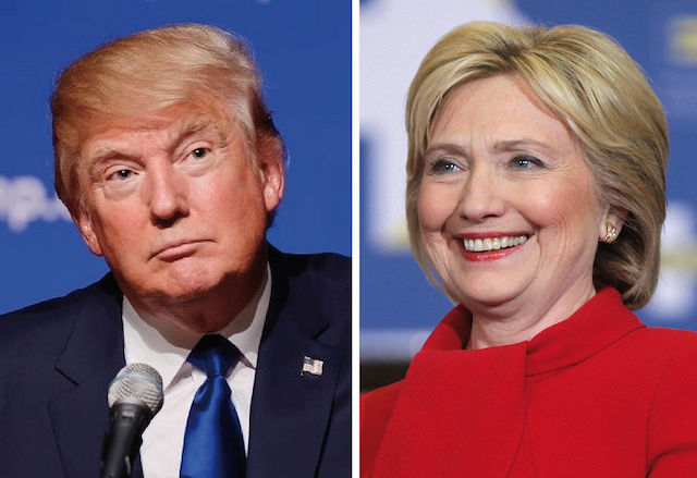 Trump and Clinton face off in first debate