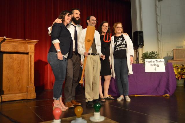 Varagona wins 20th annual life raft debate