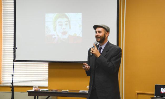 Spoken word artist inspires students
