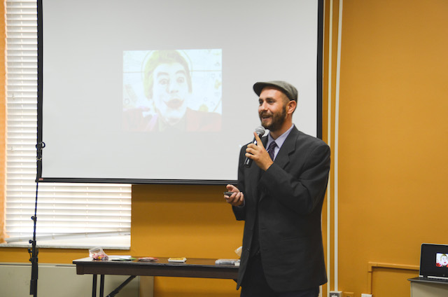 Spoken word artist inspires students