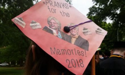 Class of 2018 gets creative with decorative grad caps
