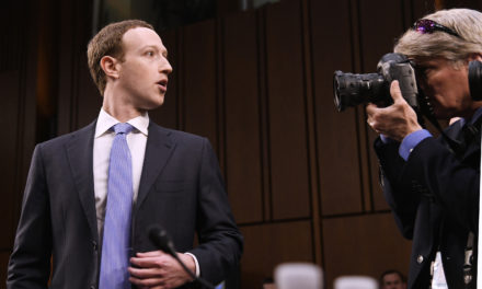 Zuckerberg testifies before a joint session of Congress
