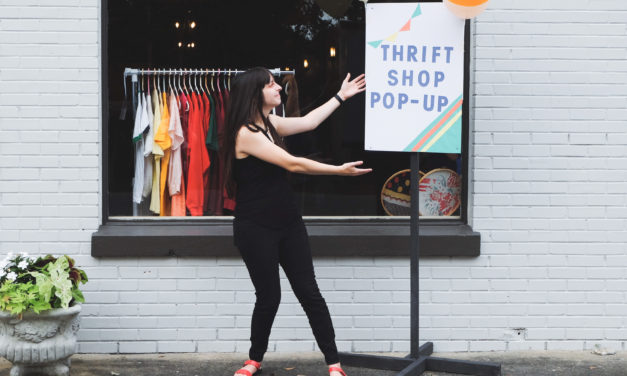 Thrift shop pop-up feeds the hungry