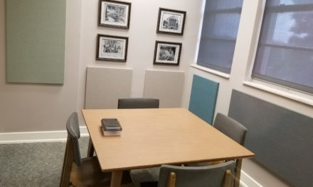 Carmichael Library unveils new group study rooms