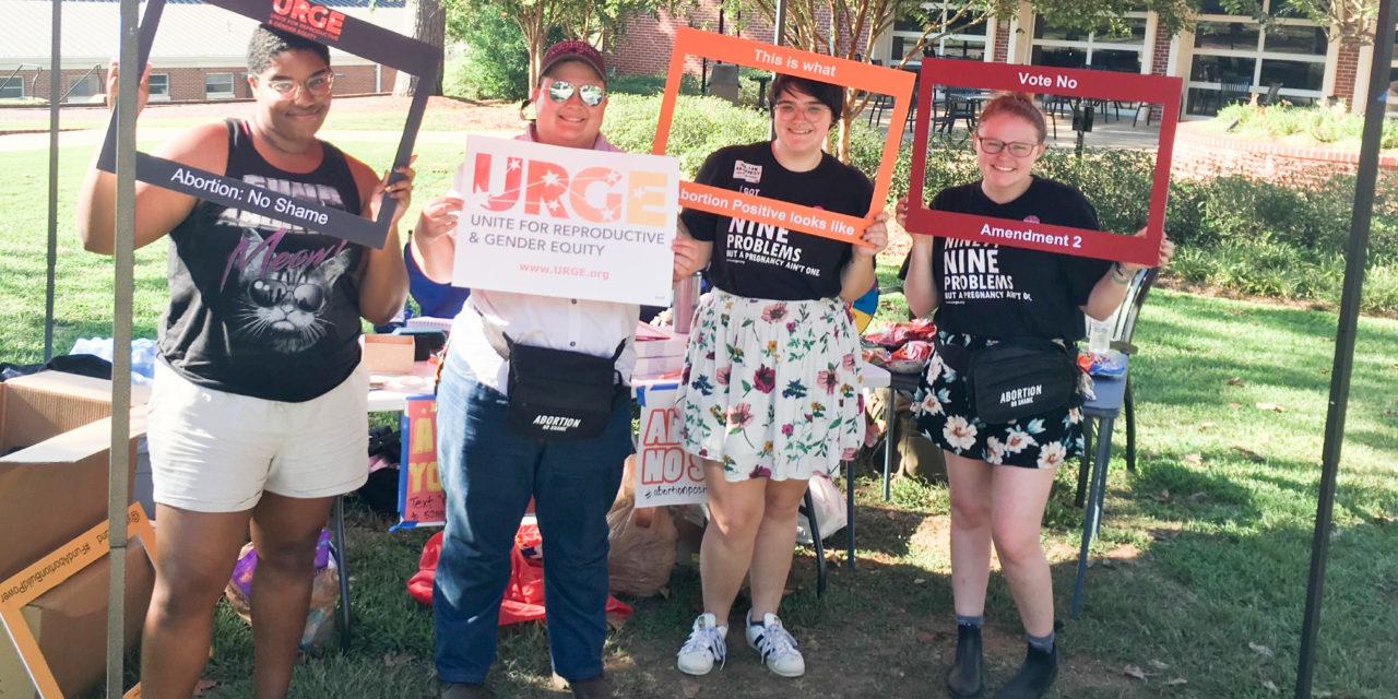 URGE leads abortion positive tour