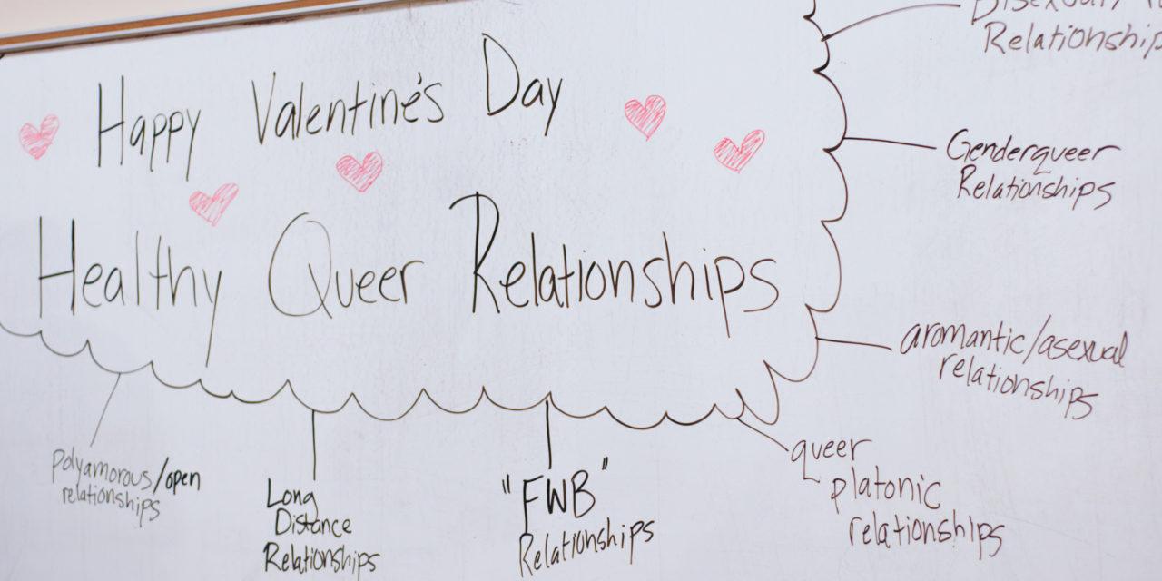 Spectrum talks healthy queer relationships