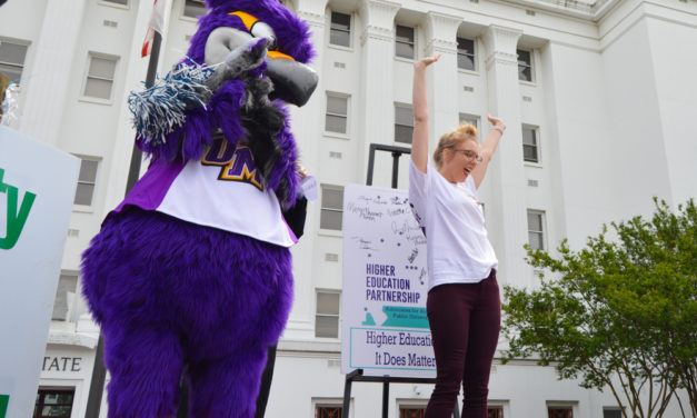 SGA rallies for higher education in Montgomery