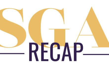 SGA recap September 2 and 9