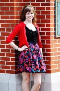Senior Alyssa Jenkins. Photo by Maggie Schmitt
