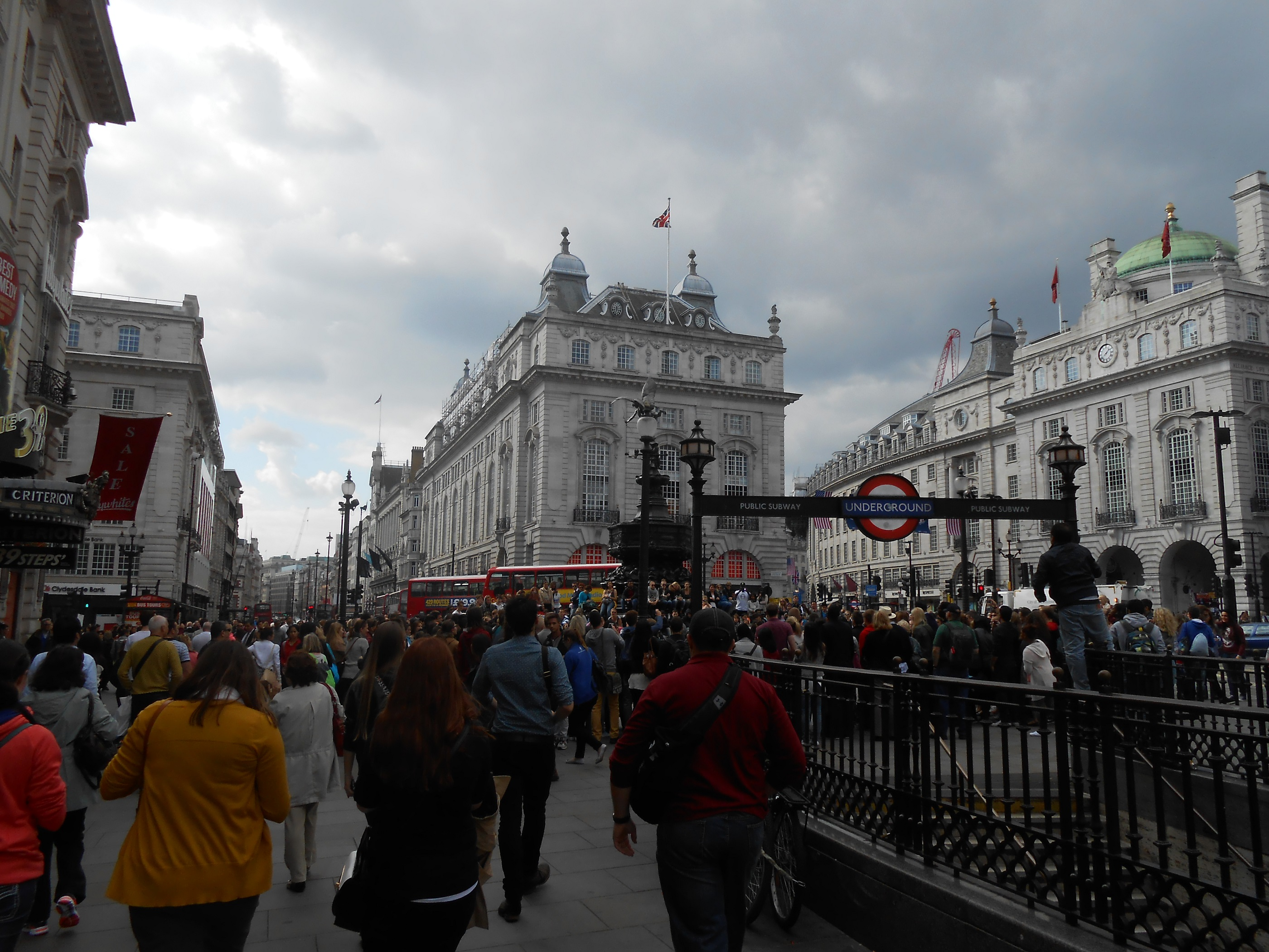 A view from a London stroll