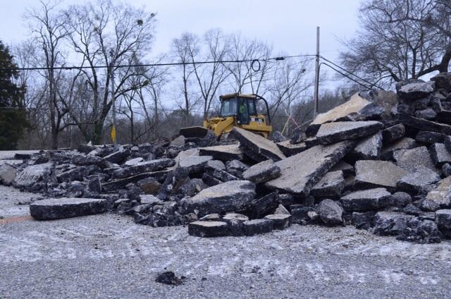 Montevallo city hall construction underway