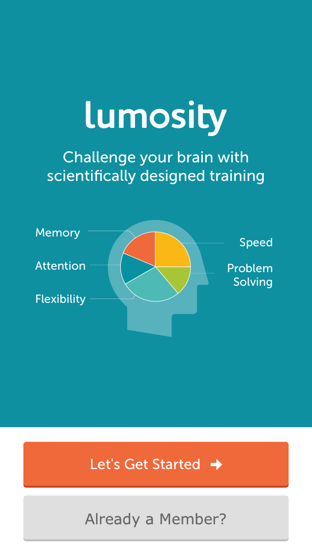 Lumosity screenshot