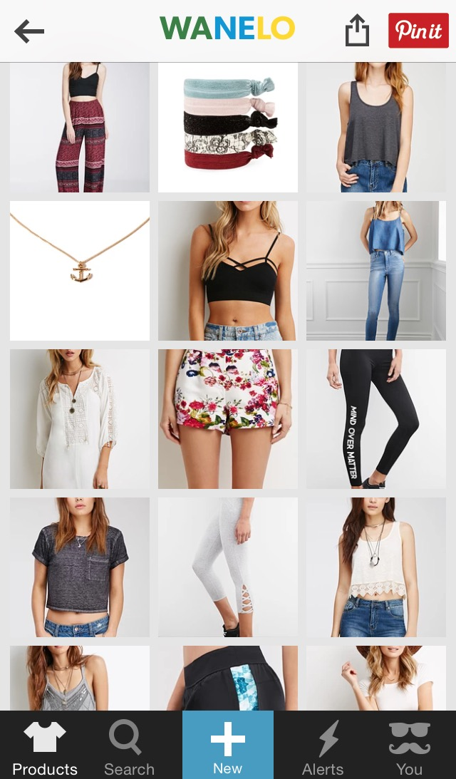 Wanelo screenshot 4