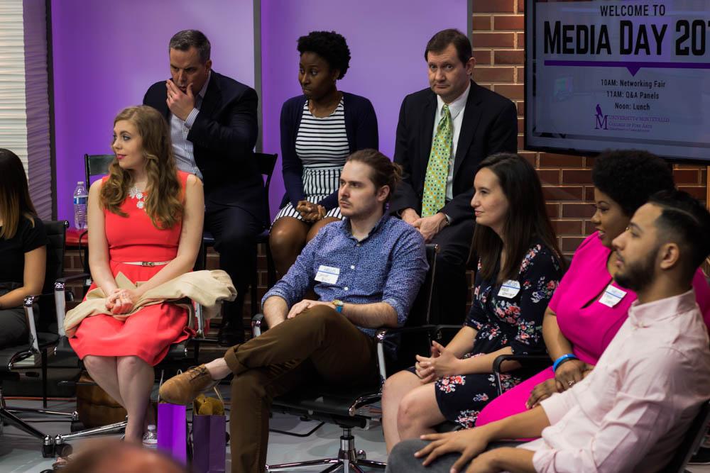 Media Day panelists