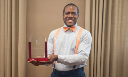 Marcus Moore named 2017-18 Student Employee of the Year