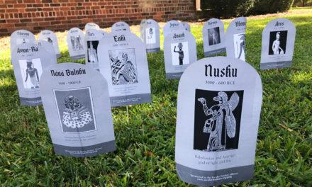 Secular Student Alliance unveils Graveyard of the Gods