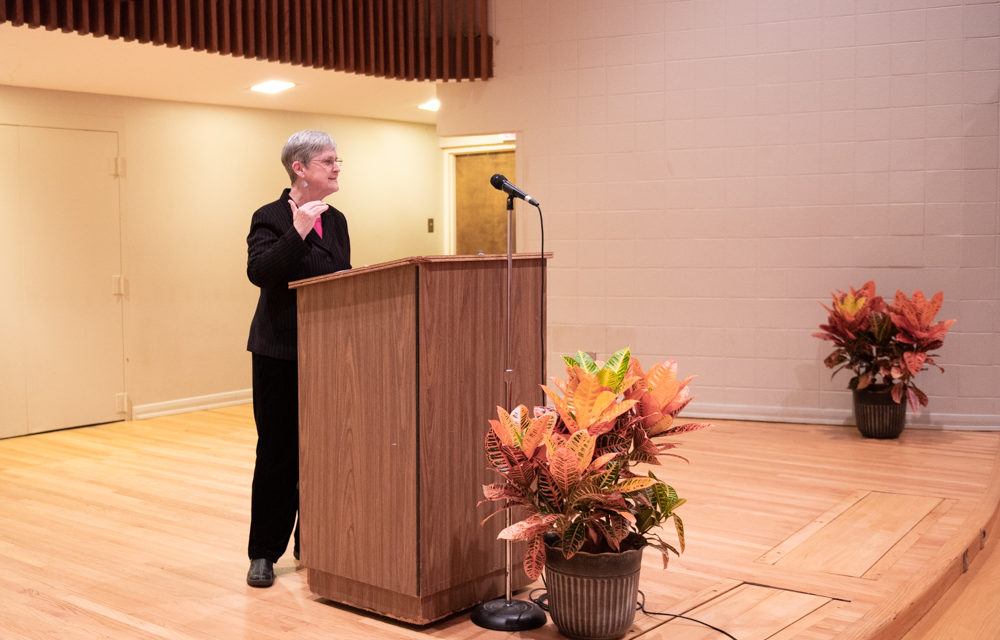 """Hallie Farmer lecturer speaks on """"legal lynching"""""""