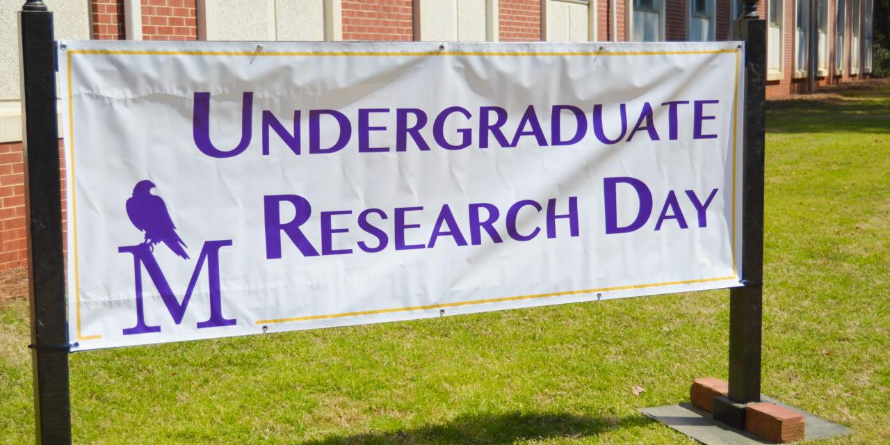 UM students present undergraduate research