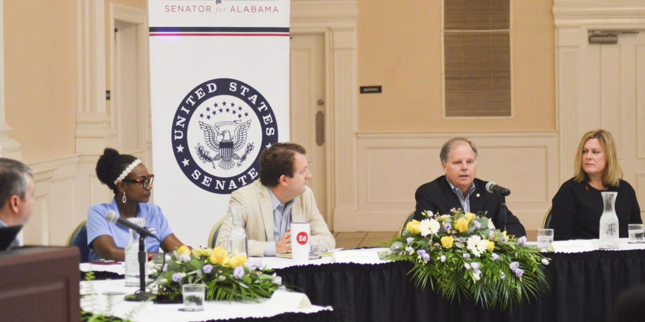 Senator discusses teacher shortage at roundtable