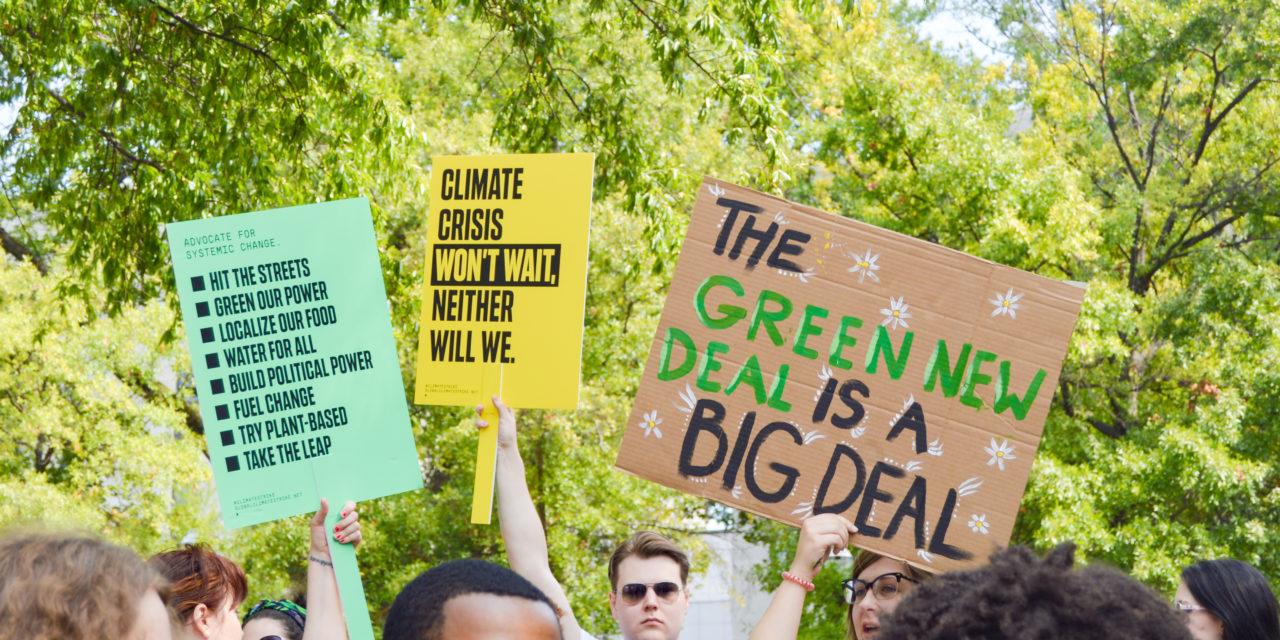 Global Climate Change Strike Draws Students