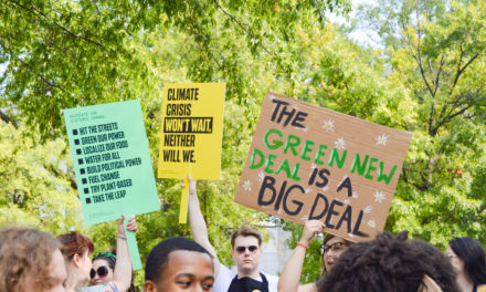 Global Climate Change Strike Draws Students