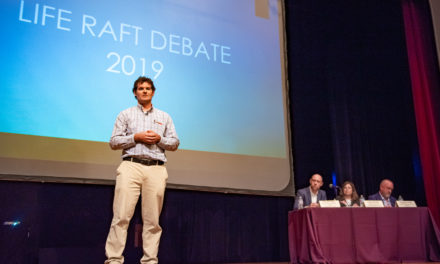 Students voice concern over Life Raft Debate joke