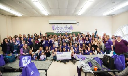 Vintage Purples fundraise for College Night endowment