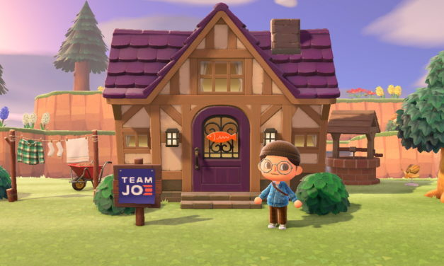 """Animal Crossing"" and political promotion"