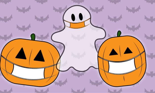 Celebrating Halloween in quarantine